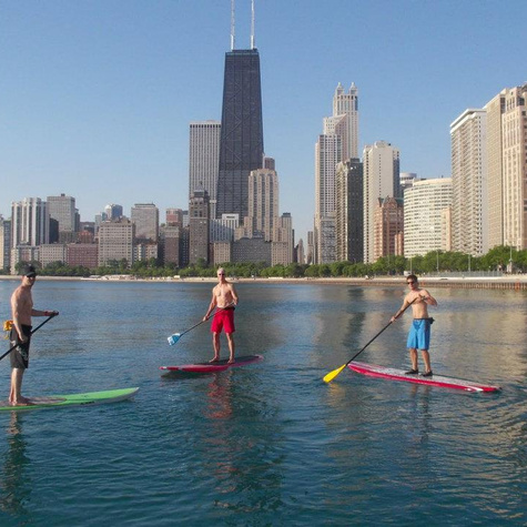 Chicago PaddleBoardLessonsFitness ChicagoSUP01