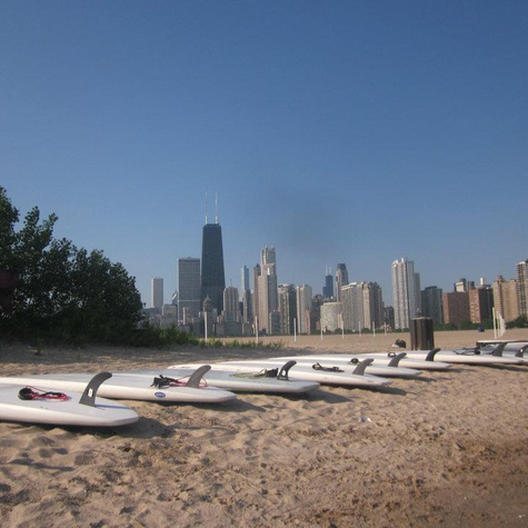 Chicago PaddleBoardLessonsFitness ChicagoSUP04
