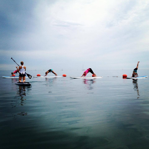 Chicago PaddleBoardLessonsFitness ChicagoSUP02