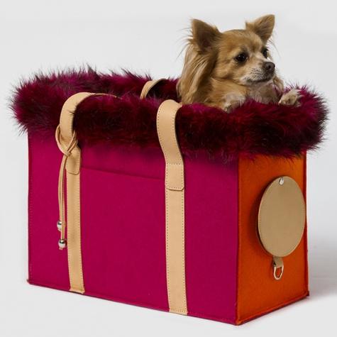 lola bag orange pink