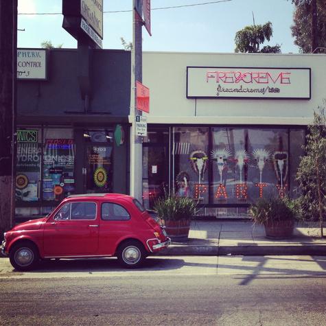 LA KidsBirthdayPartyDecorationsBoutique FireCreme03